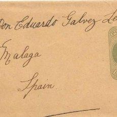 Sellos: FAJA DE PRENSA. DE HULL - GRAN BRETAÑA A MALAGA. 1905. Lote 145189898