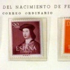 Sellos: ESPAÑA 1952- FOTO 826-NUEVO, COMPLETA. Lote 146585766