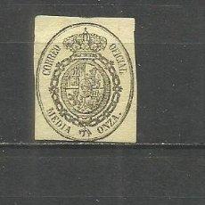 Sellos: ESPAÑA EDIFIL NUM. 35 NUEVO SIN GOMA. Lote 149500678