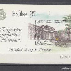 Sellos: ESPAÑA 2814 SIN CHARNELA, EXP. FILATELICA NACIONAL EXFILNA, 85. Lote 152965466