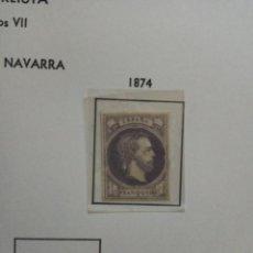 Sellos: 1874-CARLOS VII.SIN DENTAR.1 R.VIOLETA.. Lote 155842438