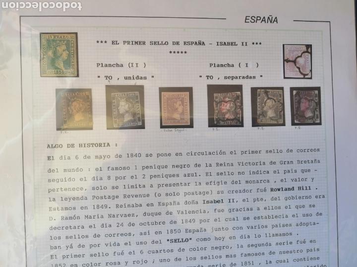 COLECCIÓN ESPAÑA 1850/1899 CLÁSICOS SIGLO XIX 30 HOJAS AÑOS 90 LOTE TAL FOTOS (Sellos - España - Otros Clásicos de 1.850 a 1.885 - Usados)