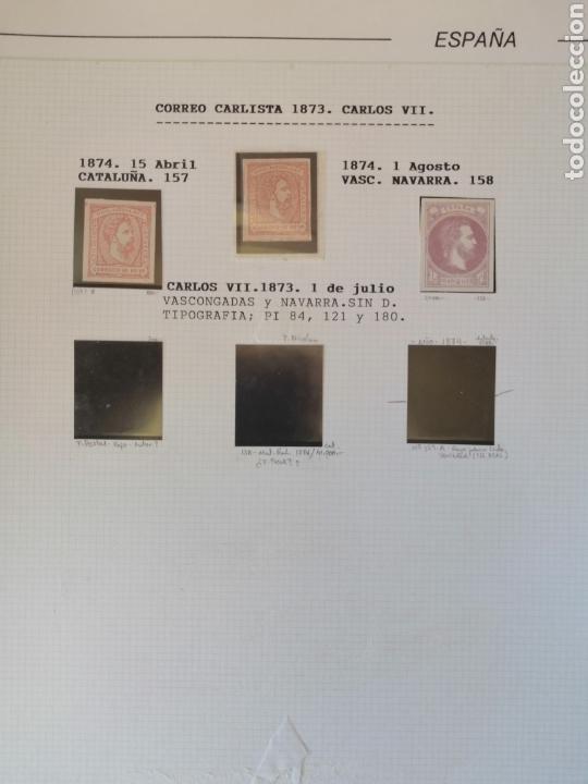 Sellos: Colección España 1850/1899 clásicos siglo XIX 30 hojas años 90 lote tal fotos - Foto 21 - 164513216