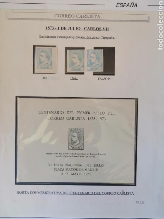 Sellos: Colección España 1850/1899 clásicos siglo XIX 30 hojas años 90 lote tal fotos - Foto 23 - 164513216