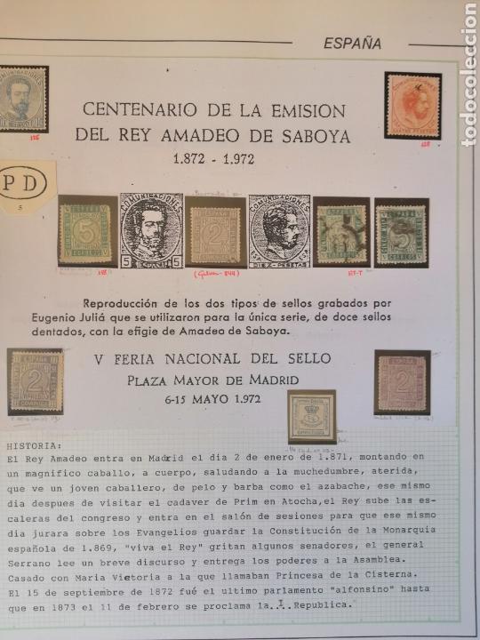 Sellos: Colección España 1850/1899 clásicos siglo XIX 30 hojas años 90 lote tal fotos - Foto 24 - 164513216