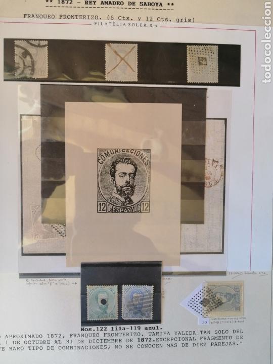 Sellos: Colección España 1850/1899 clásicos siglo XIX 30 hojas años 90 lote tal fotos - Foto 26 - 164513216
