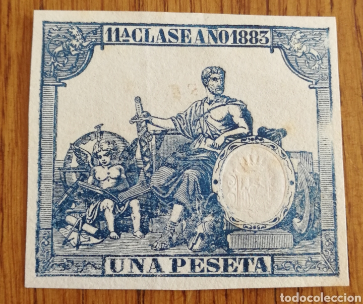FISCALES 1883 (Sellos - España - Otros Clásicos de 1.850 a 1.885 - Usados)