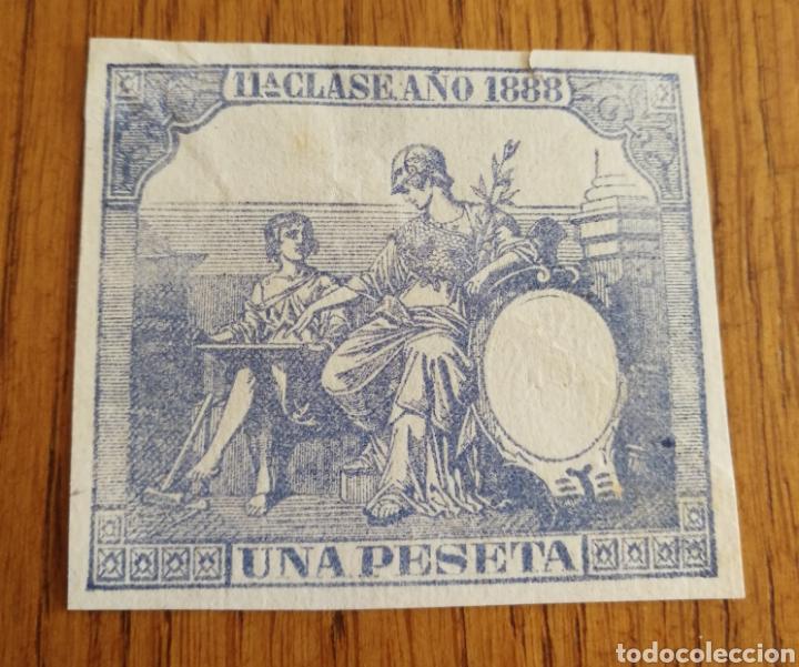 FISCALES 1888 (Sellos - España - Otros Clásicos de 1.850 a 1.885 - Usados)