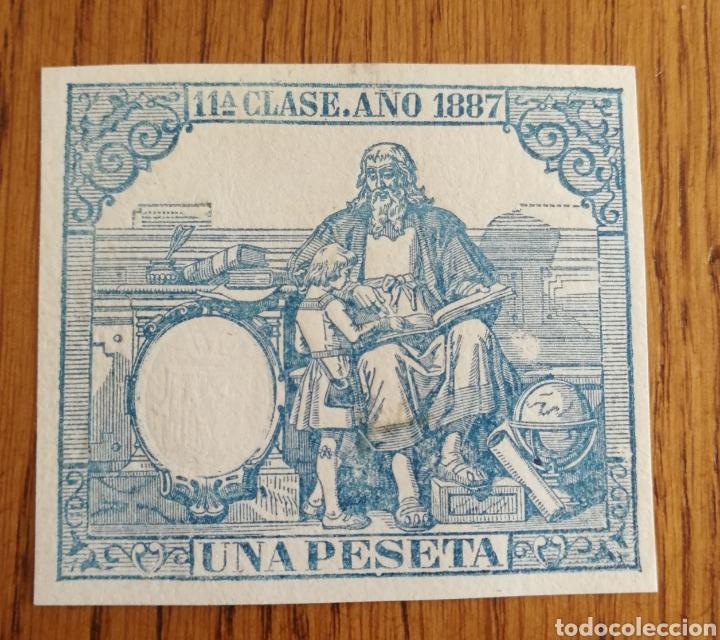 FISCALES 1887 (Sellos - España - Otros Clásicos de 1.850 a 1.885 - Usados)