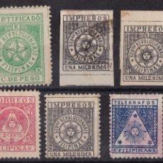 Sellos: RR22- COLONIAS FILIPINAS CORREO INSURRECTO. Lote 167076968