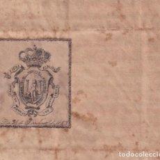 Selos: F-EX16115 ESPAÑA SPAIN 1859 NOTARIES LAWYER & ATTORNEYS. NOTARIOS ABOGADOS PROCURADORES. CADIZ.. Lote 171076787