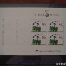 Sellos: EUROPA CEPT PORTUGAL 1988 MNH**. Lote 172177497