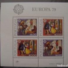 Sellos: EUROPA CEPT PORTUGAL 1979 MNH**. Lote 172177553