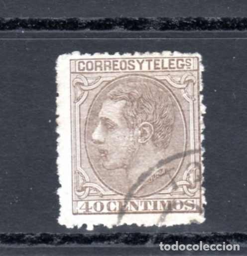 ED Nº 205 ALFONSO XII USADO (Sellos - España - Otros Clásicos de 1.850 a 1.885 - Usados)