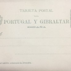 Sellos: ESPAÑA: TARJETA POSTAL PARA PORTUGAL Y GIBRALTAR. Lote 177556513