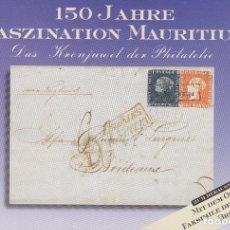 Sellos: F29-17-INTERESANTE PUBLICACIÓN CON FACSIMIL DE LA MÍTICA CARTA CON LOS SELLOS DE MAURITIUS. Lote 178948228