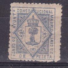 Sellos: CC24- FISCALES LOCALES AYUNTAMIENTO MADRID 25 CTS . NUEVO*. Lote 180278560