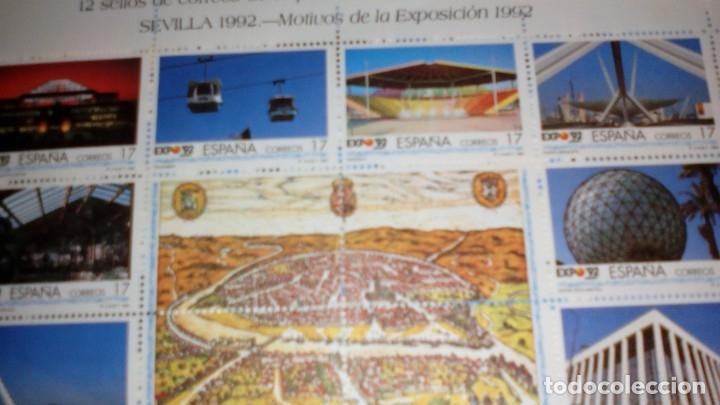 EXPOSICION UNIVERSAL SEVILLA 92 (Sellos - España - Otros Clásicos de 1.850 a 1.885 - Nuevos)