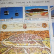 Sellos: EXPOSICION UNIVERSAL SEVILLA 92. Lote 182750935