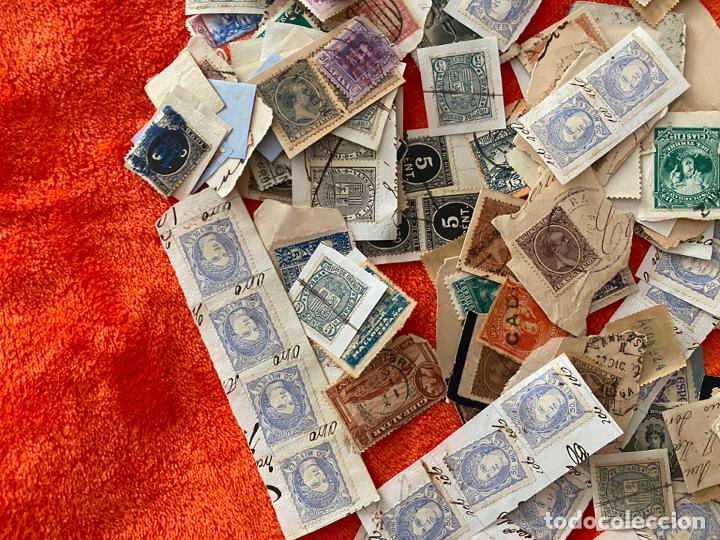 Sellos: GRAN LOTE DE SELLOS ESPAÑOLES USADOS - Foto 2 - 183839357