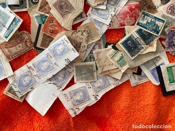 Sellos: GRAN LOTE DE SELLOS ESPAÑOLES USADOS - Foto 3 - 183839357