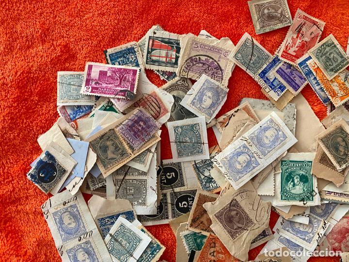 Sellos: GRAN LOTE DE SELLOS ESPAÑOLES USADOS - Foto 4 - 183839357
