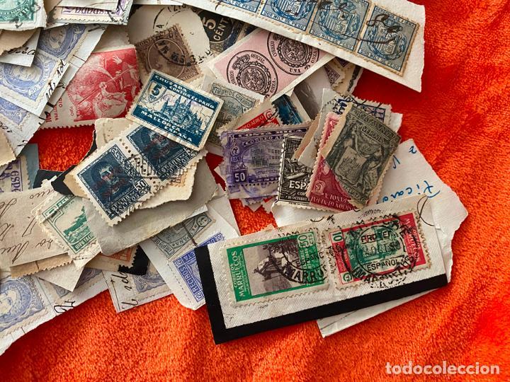 Sellos: GRAN LOTE DE SELLOS ESPAÑOLES USADOS - Foto 6 - 183839357