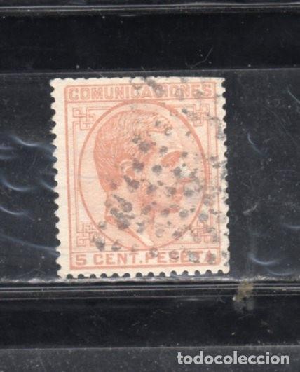 ED. Nº 191 ALFONSO XII USADO (Sellos - España - Otros Clásicos de 1.850 a 1.885 - Usados)