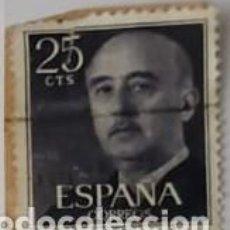 Sellos: SELLO DE FRANCO 25CTS. Lote 193745010