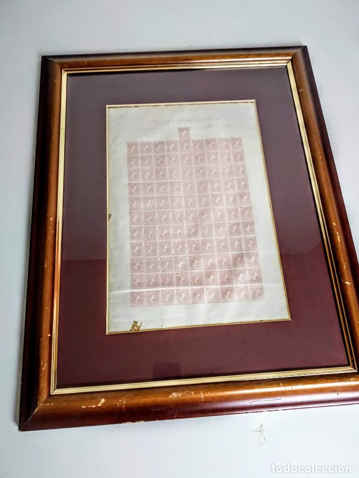 Sellos: Pliego de 100 sellos Carlos VII, 1874, Ejército real de Cataluña. Carlistas. - Foto 5 - 195003946