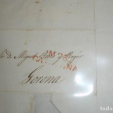 Sellos: CARTA A CATALUÑA GERONA 1835 - PORTAL DEL COL·LECCIONISTA . Lote 196482222