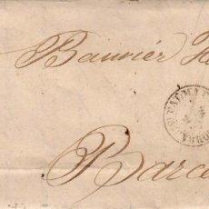 Sellos: AÑO 1870 EDIFIL 107 ALEGORIA CARTA MATASELLOS ROMBO PAALMA DE MALLORCA JAIME PIÑA. Lote 205726952