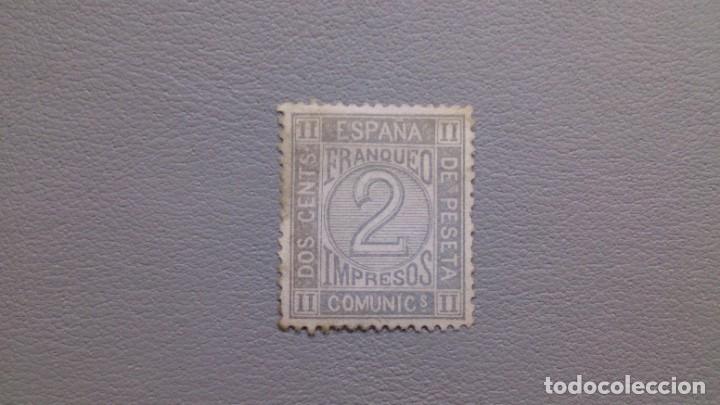 ESPAÑA - 1872 - AMADEO I - EDIFIL 116 - MH* - NUEVO - CENTRADO - VALOR CATALOGO 35€. (Sellos - España - Otros Clásicos de 1.850 a 1.885 - Nuevos)