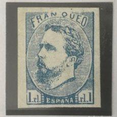 Sellos: 1873-ESPAÑA CARLOS VII EDIFIL 156 MH* 1 REAL CARLISTA - NUEVO -. Lote 210227746