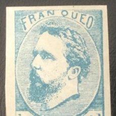 Sellos: 1873-ESPAÑA CARLOS VII EDIFIL 156A MH* 1 REAL CARLISTA - NUEVO - CERTIFICADO COMEX. Lote 210228568