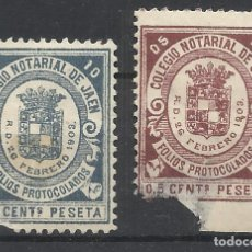 Timbres: 1903 COLEGIO NOTARIAL DE JAEN. Lote 214788633