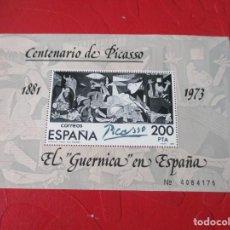 Sellos: 1981 HOJITA BLOQUE EL GUERNICA EN ESPAÑA EDIFIL 2631. Lote 223725785
