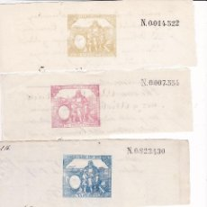 Timbres: TMBR3- FISCALES PAPEL SELLADO .SELLO 1º 1887 + 5 VALORES MAS.. Lote 225082897