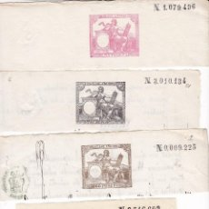 Timbres: TMBR5- FISCALES PAPEL SELLADO .SELLO 1º 1884 + 3 VALORES MAS.. Lote 225082930