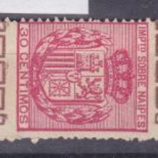 Timbres: JJ38- FISCALES NAIPES. Lote 225285361