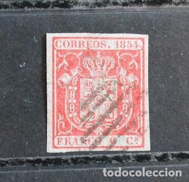 AÑO 1854 EDIFIL 24 (Sellos - España - Otros Clásicos de 1.850 a 1.885 - Usados)