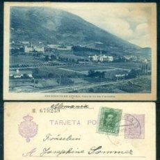 Selos: LOTE ANTIGUA POSTAL VISTA MONASTERIOS SAN IGNACIO DE LOYOLA + TARJETAS ENTERO POSTALES. CIRCULADAS.. Lote 246945810