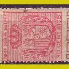 Sellos: FISCALES IMPUESTO SOBRE NAIPES 1880, ALEMANY Nº 1 * *. Lote 254511125