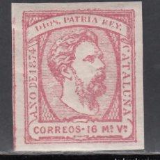 Sellos: ESPAÑA, CORREO CARLISTA, 1874 EDIFIL Nº 157 /*/, CARLOS VII. Lote 256053925
