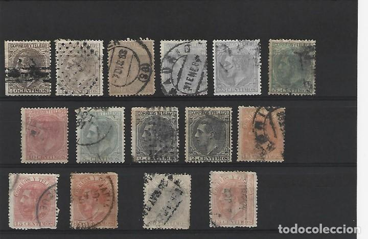 ESPAÑA (Sellos - España - Otros Clásicos de 1.850 a 1.885 - Usados)