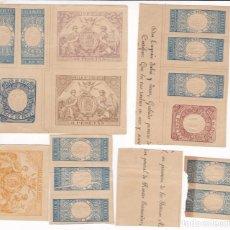 Sellos: ST- FISCALES X 57 VALORES DIFERENTES DE LA HOJA MUESTRA 1878. VER 19 IMÁGENES Y DESCRIPCIÓN. Lote 260698155