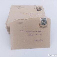 Selos: LOTE DE 70 CARTAS DE CORRESPONDENCIA DE MADRID A CARTAGENA 1951 DE LA MISMA FAMILIA. Lote 265778989