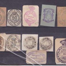 Selos: FC3-5- LOTE MARCAS ANTIGUAS, FRANQUICIAS CORREOS Y OTRAS. Lote 266314653