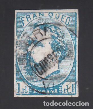 ESPAÑA, CORREO CARLISTA, 1874 EDIFIL Nº 156, CARLOS VII (Sellos - España - Otros Clásicos de 1.850 a 1.885 - Usados)