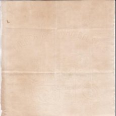 Sellos: ST(HB)- FISCALES . HOJA CON LA MARCA DE AGUA Y ESCUDO FÁBRICA NACIONAL DE SELLO 1876. Lote 270116853